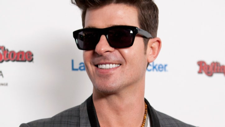 Robin Thicke: 'You Can't Listen to Your Own Music When Having Sex'