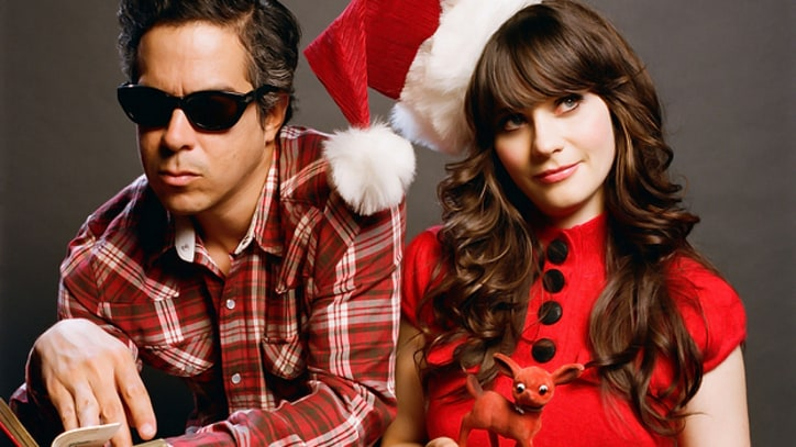 On the Charts: She and Him, the Killers Score With Christmas Pop
