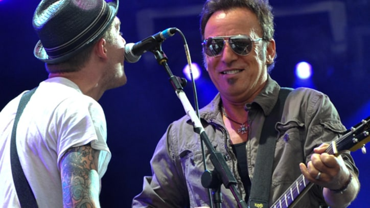 Bruce Springsteen Joins the Gaslight Anthem Onstage in Asbury Park