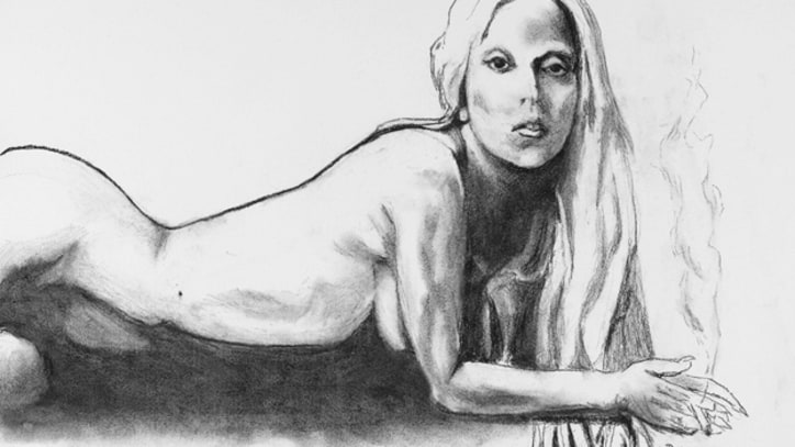 Tony Bennett's Nude Sketch of Lady Gaga Up for Auction