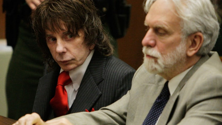 Phil Spector Requests Appeal From U.S. Supreme Court