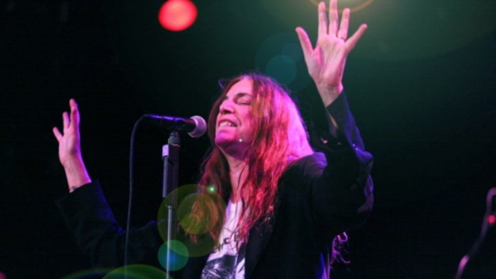 Patti Smith Ends New Year's Eve Residencies at Bowery Ballroom