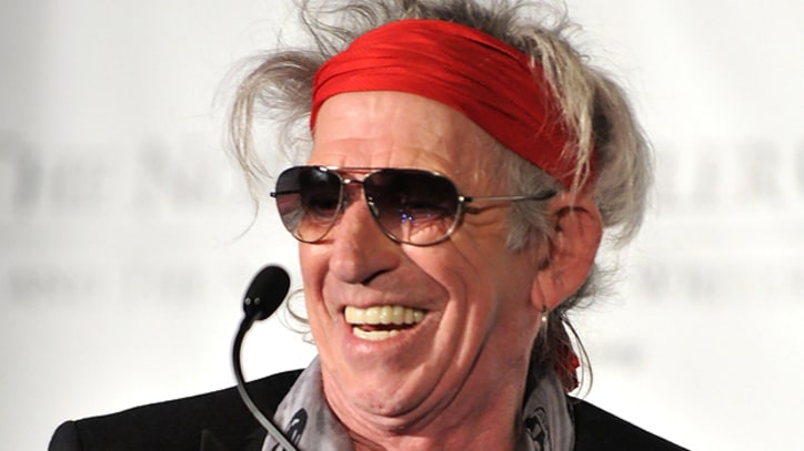 Keith Richards Recovering from Eye Surgery
