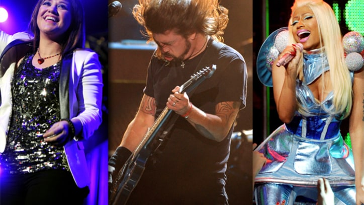 Foo Fighters, Taylor Swift, Nicki Minaj to Perform at Grammys