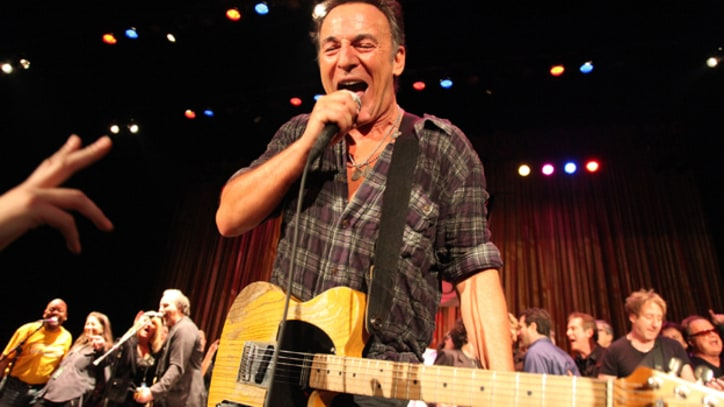 Bruce Springsteen Plays Surprise Set at New Jersey Benefit Concert