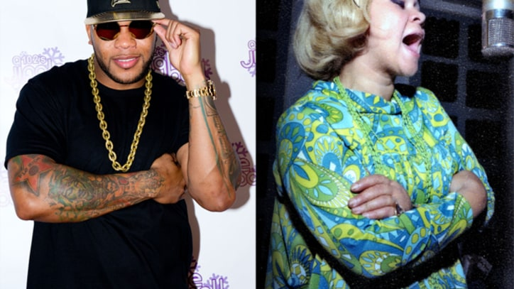 Flo Rida and Avicii Remember Etta James