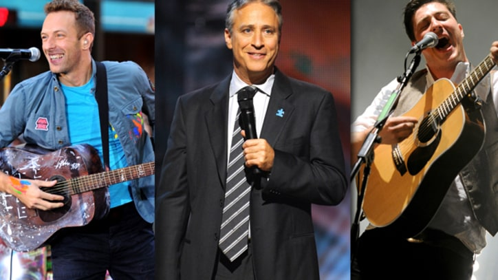 Coldplay, Jon Stewart, Mumford and Sons to Headline First Secret Policeman's Ball in New York
