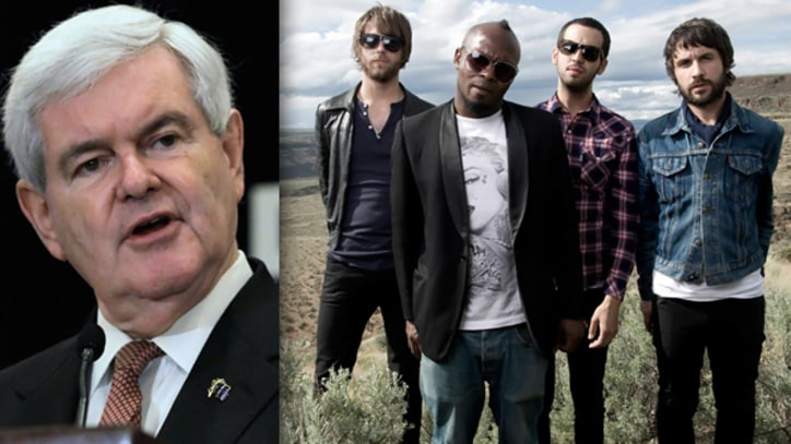Newt Gingrich Ordered to Stop Using 'How You Like Me Now?'