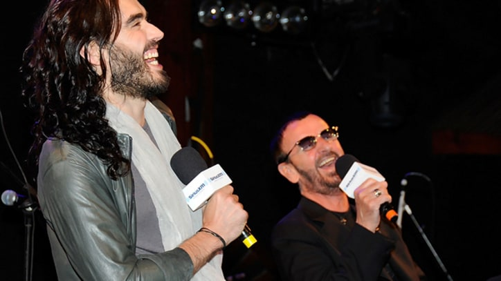 Meet the Beatle: Russell Brand Interviews Ringo Starr in L.A.