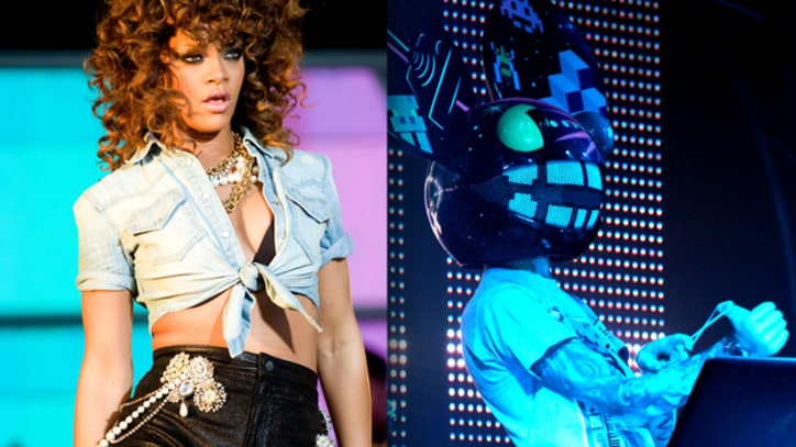 Rihanna and Deadmau5 Headline Charity Gig in Los Angeles