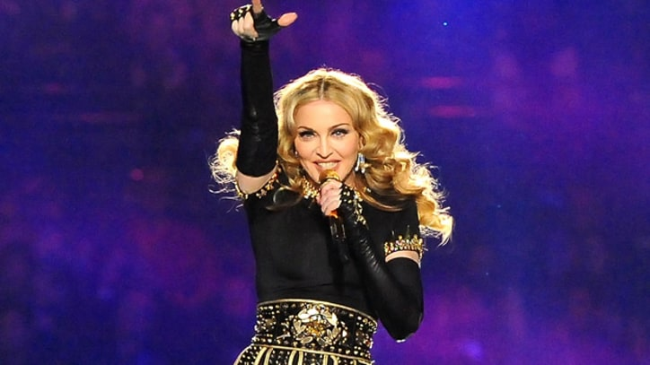 Madonna's Glittering Super Bowl Spectacle