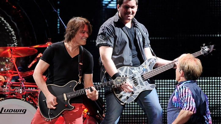 Van Halen Rocks the L.A. Forum for Thousands of 'Friends and Family'