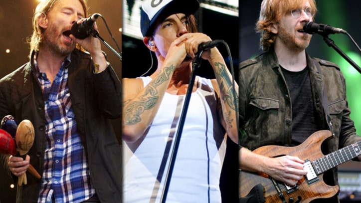 Bonnaroo 2012 Lineup: Radiohead, Red Hot Chili Peppers, Phish Headline