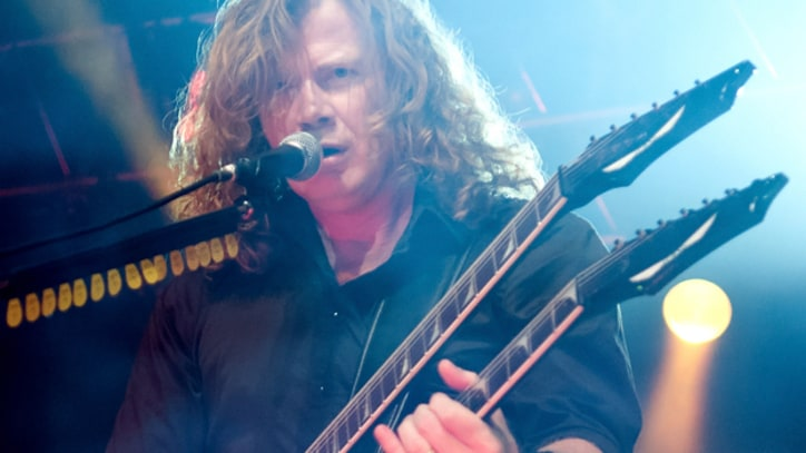Dave Mustaine: I'm Not Ready to Endorse Rick Santorum