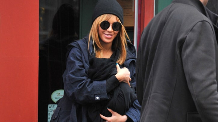 Blue Ivy Makes Her First Public Appearance
