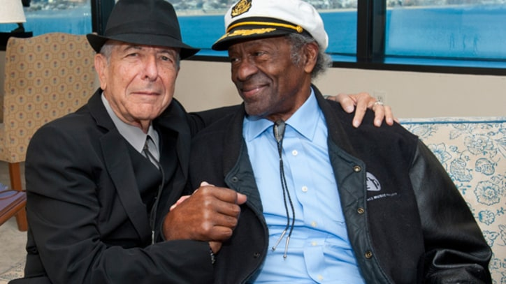 Chuck Berry, Leonard Cohen Get First PEN Songwriting Awards