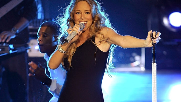 Mariah Carey Returns to Stage in NYC