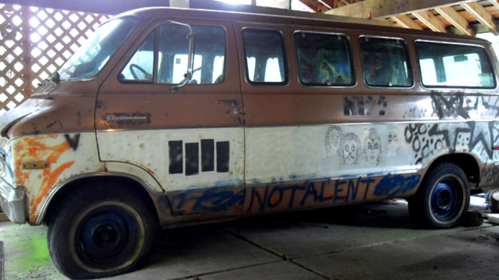 Kurt Cobain-Decorated Melvins Van For Sale