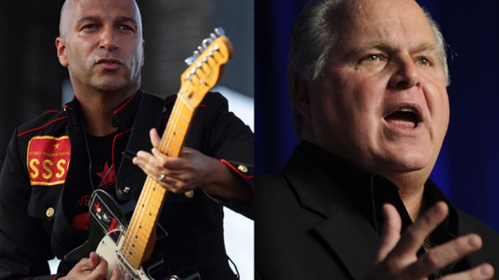 Rage Against the Machine to Rush Limbaugh: 'Stop Using Our Music in Your Right-Wing Clown Show'