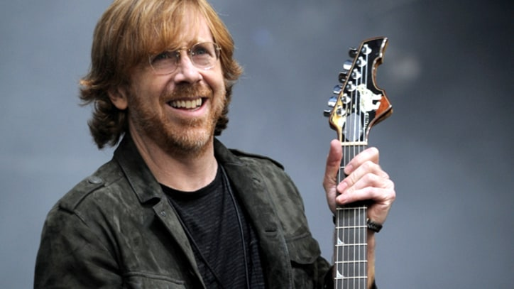 Phish's Trey Anastasio Performs With The Los Angeles Philharmonic