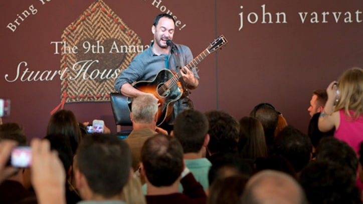 Dave Matthews Unplugs for Charity