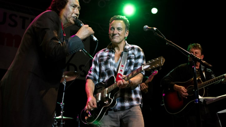 Bruce Springsteen Makes Surprise Appearance at Austin Music Awards