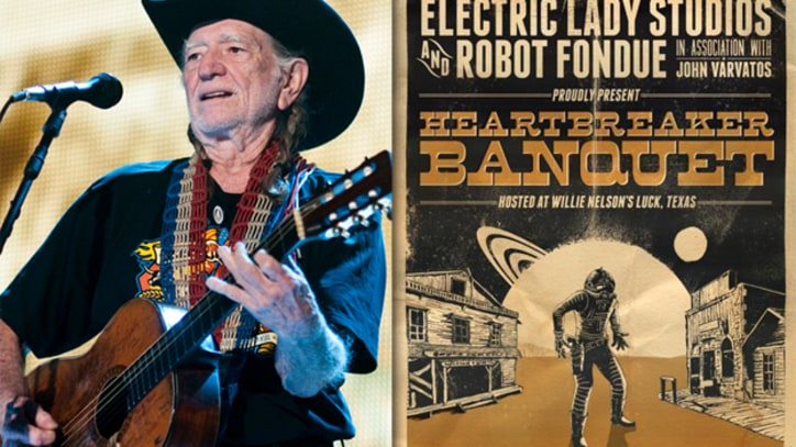 SXSW Bands Head to Willie Nelson's Ranch for Heartbreaker Banquet