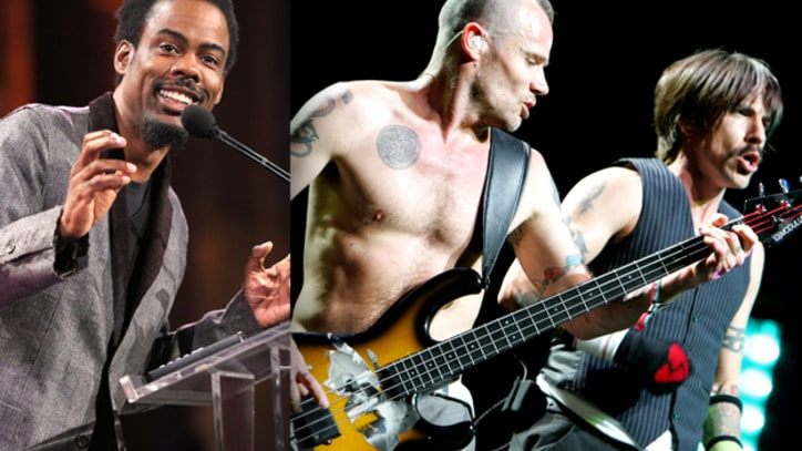 Chris Rock to Induct Red Hot Chili Peppers Into Rock and Roll Hall of Fame