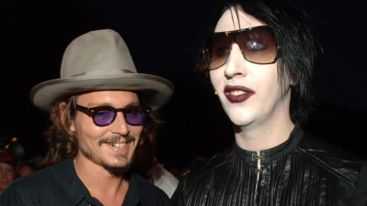 Marilyn Manson, Johnny Depp to Cover Simon's 'You're So Vain'