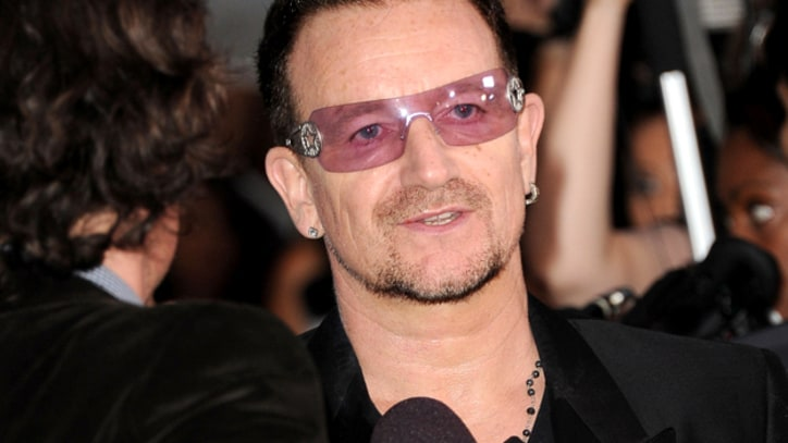 Reporter Conducts Gotcha Interview With Bono Impersonator