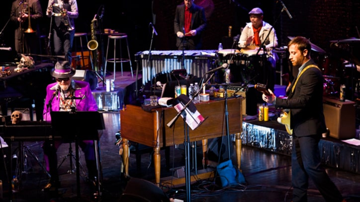 Dr. John Holds Court with Dan Auerbach in New York