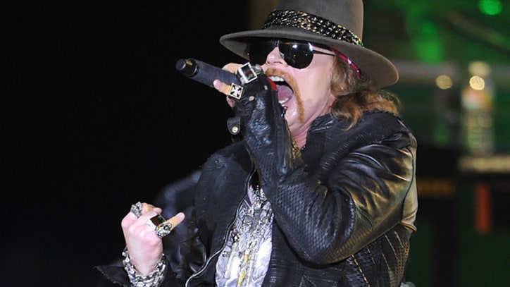 Axl Rose Will Not Attend Guns N' Roses' Hall of Fame Induction