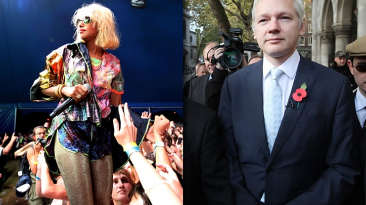 M.I.A. Records Music for Julian Assange TV Show