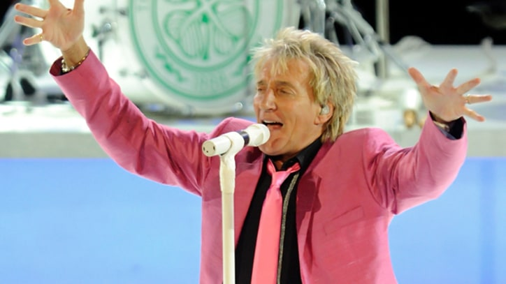 Rod Stewart Too Sick to Attend Rock and Roll Hall of Fame Induction