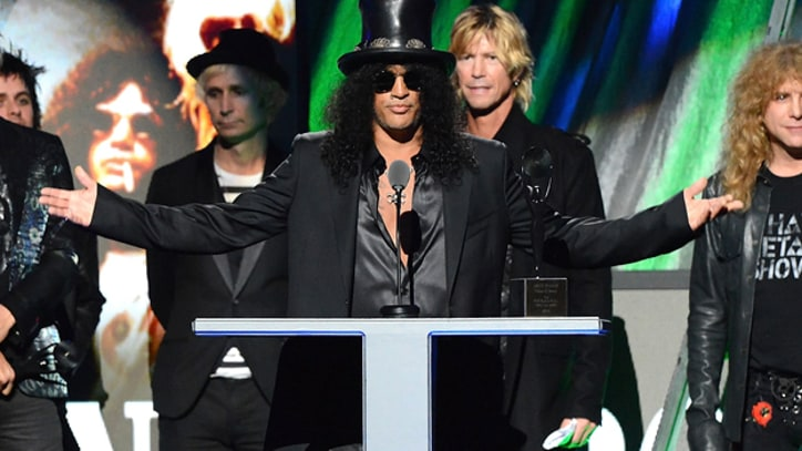 Guns N' Roses, Chili Peppers Bring Magic to Hall of Fame Induction