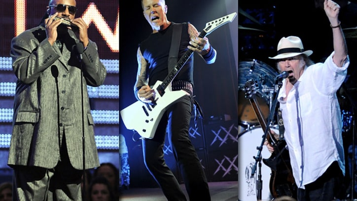 Metallica, Stevie Wonder, Neil Young and Crazy Horse to Headline Outside Lands