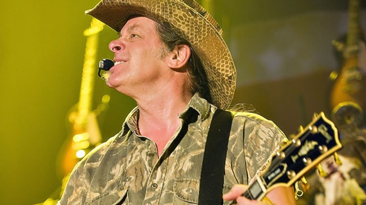 Ted Nugent Under Fire for Obama Threats