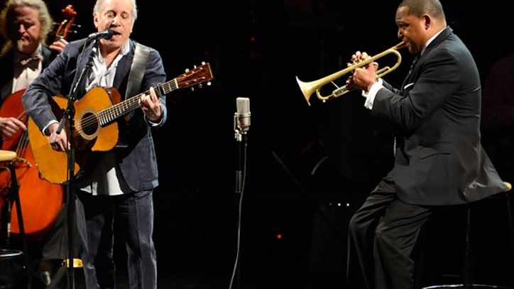 Paul Simon Gets a Jazz Infusion From Wynton Marsalis