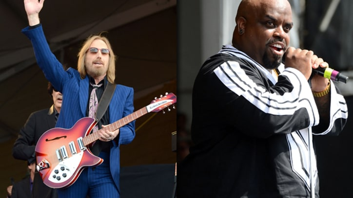 Tom Petty and Cee Lo Rock the Crowds at Jazz Fest Day Two