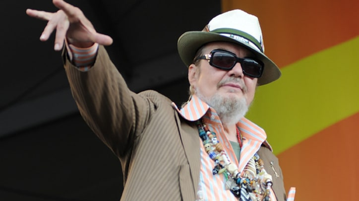 Dr. John Gets Hometown Hero's Welcome at Jazz Fest