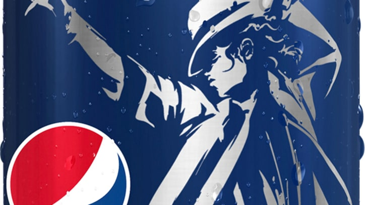 Michael Jackson to Appear on Pepsi Cans