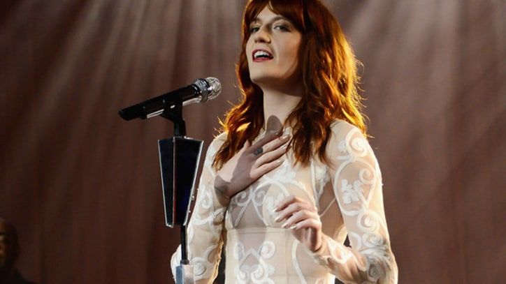 Florence Welch on Gearing Up for Lollapalooza, Meeting Justin Timberlake