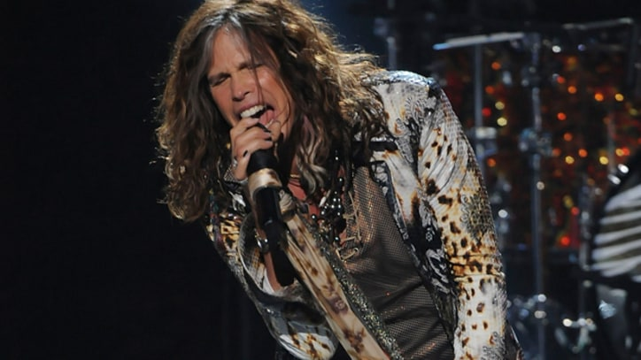 Steven Tyler Talks Up New Aerosmith Album at 'Idol' Finale