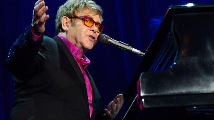 Elton John Hospitalized for Respiratory Infection