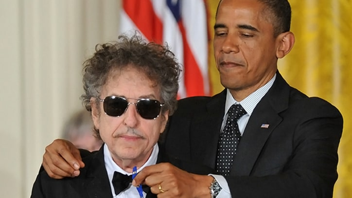 Bob Dylan Awarded Presidential Medal of Freedom