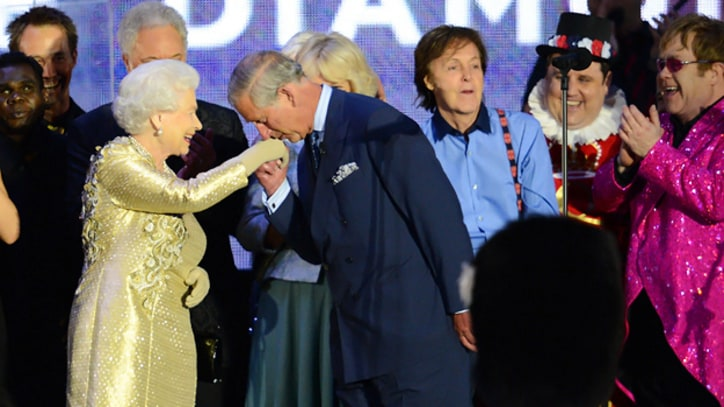 Paul McCartney, Elton John Honor Queen at Diamond Jubilee Concert