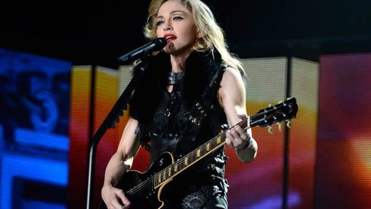 French Political Leader Threatens to Sue Madonna Over Swastika Imagery