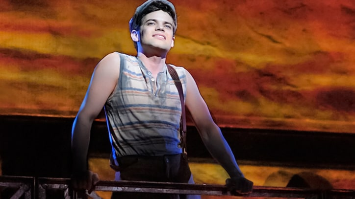 The Real-Life 'Smash' Story of 'Newsies' Star Jeremy Jordan
