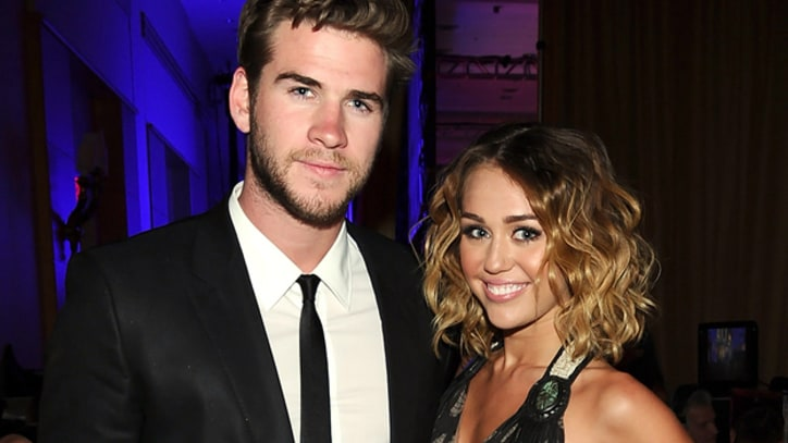 Miley Cyrus Engaged to 'Hunger Games' Star Liam Hemsworth
