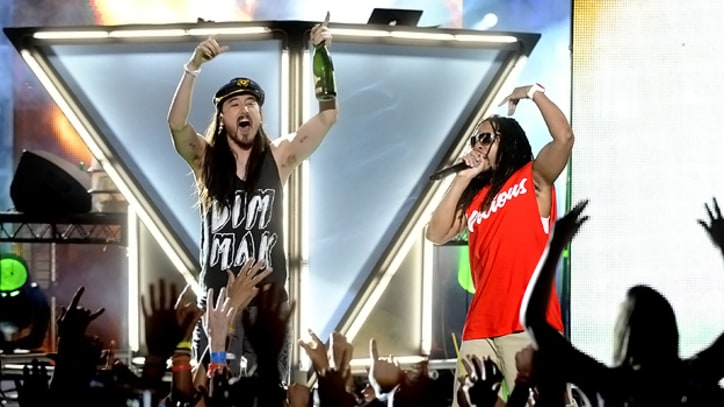 Steve Aoki and Lil Jon Bond Over Beats, Board Games